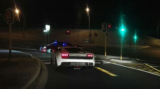 Officers Prove They Are Fast Enough To Nab Lamborghini Driver