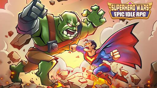 Télécharger Gratuit Superhero Wars: Epic Idle RPG - Legend Battle APK MOD (Astuce) screenshots 1