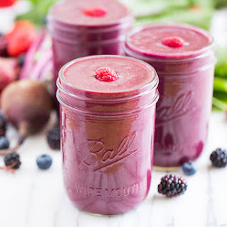 Glowing Berry Beet Smoothie