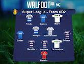 Notre équipe de la deuxième journée en Super League