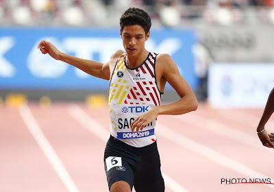 Jonathan Sacoor en Kevin Borlée naar halve finales 400 meter, Crestan (met persoonlijk record) en Zagré naar huis