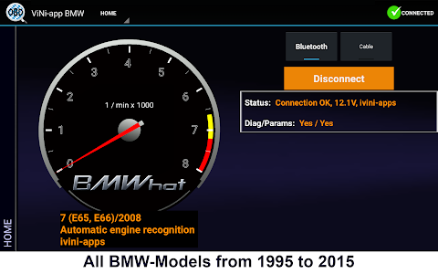 Carly for BMW v19.41 (iViNi-apps for BMW )