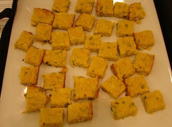 Artichoke Cheese Squares Recipe