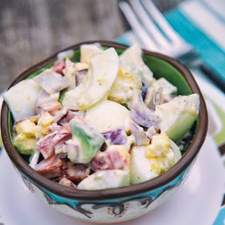 Egg And Avocado Salad.