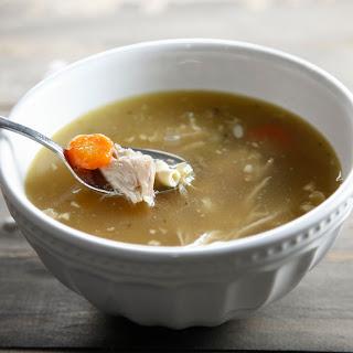Rotisserie Chicken Soup.