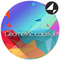 Geometric Colorful for Xperia™ icon