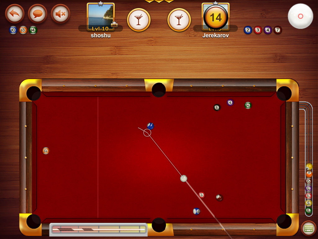 POOL 8 BALL BY FORTEGAMES- screenshot