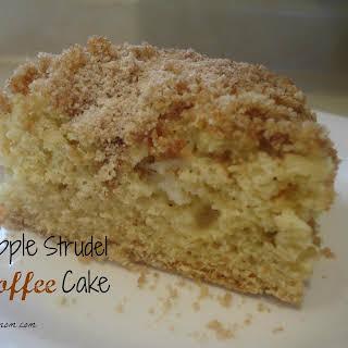 Apple Strudel Coffee Cake.