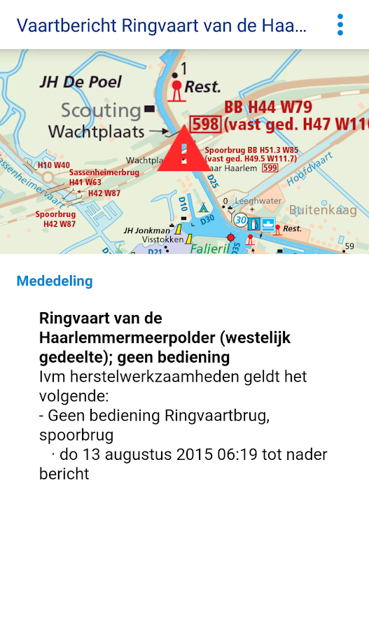 ANWB Waterkaarten- screenshot