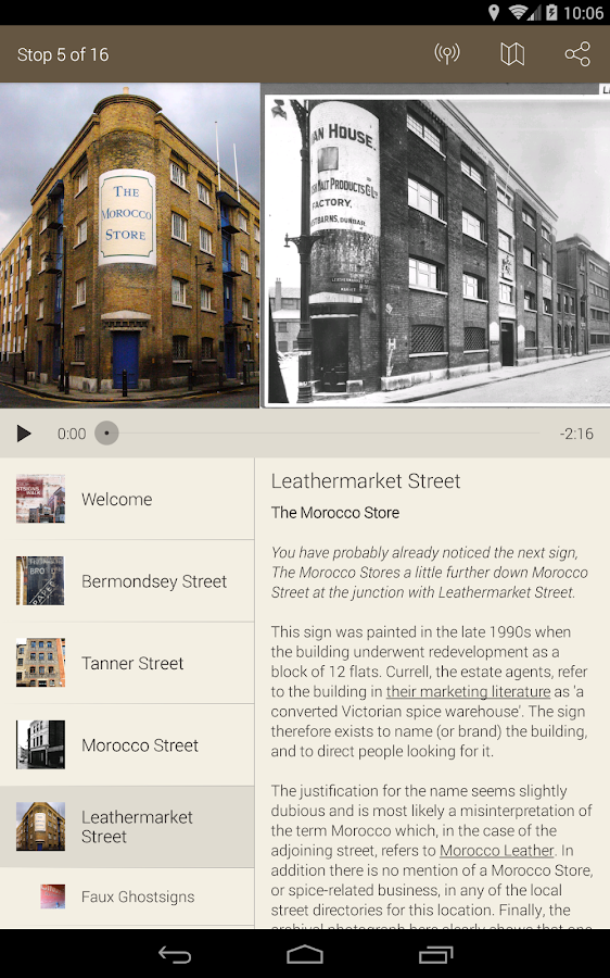 Ghost Signs Tours- screenshot