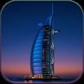 HD Dubai Night Live Wallpaper icon