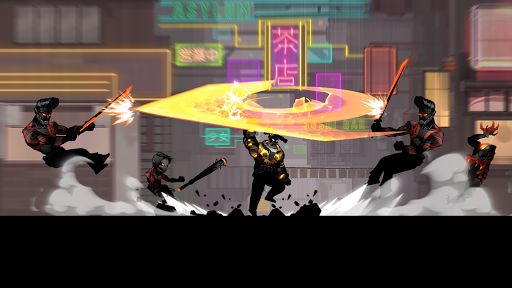 Cyber Fighters: Shadow Legends in Cyberpunk City filehippodl screenshot 1