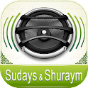Quran Audio - Sudays & Shuraym icon
