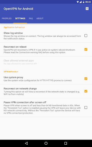 OpenVPN for Android 0.7.5 screenshots 15