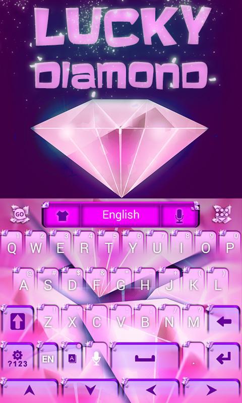 Lucky-Diamond-GO-Keyboard 12