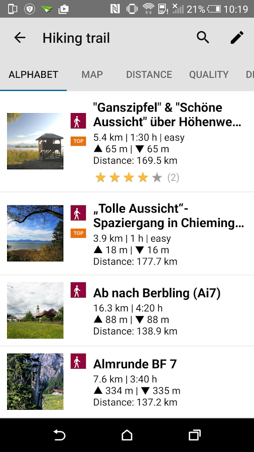 Chiemsee Alpen App- screenshot