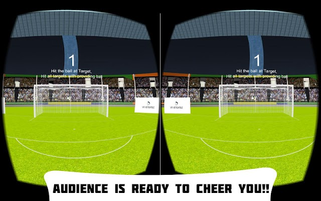 VR Soccer Header - screenshot