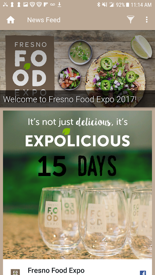 Fresno Food Expo 2017- screenshot