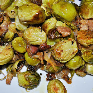 Dijon Bacon Brussel Sprouts.