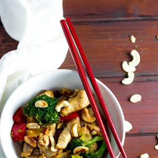 Cashew Chicken Stir-Fry.