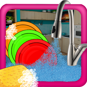 Girls Dish Washing – Cleanup for PC and MAC