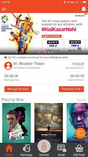 My DishTV 8.3.9 screenshots 1