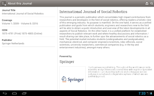 Social Robotics- screenshot thumbnail