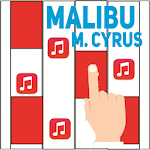 Piano Magic - Malibu; Miley Cyrus Icon