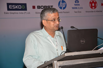 Photo: S.N.Venkataraman, Vice President-Marketing, ITC Limited- Paperboards & Specialty Papers Division