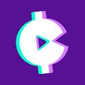 Earn Cash Rewards: Play Music & Games! Make Money! icon