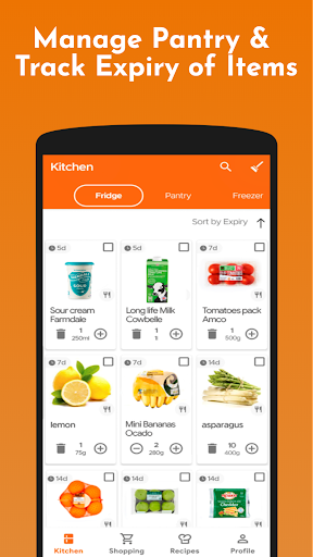 KITCHENPAL: Pantry Manager, Grocery List & Recipes screenshot