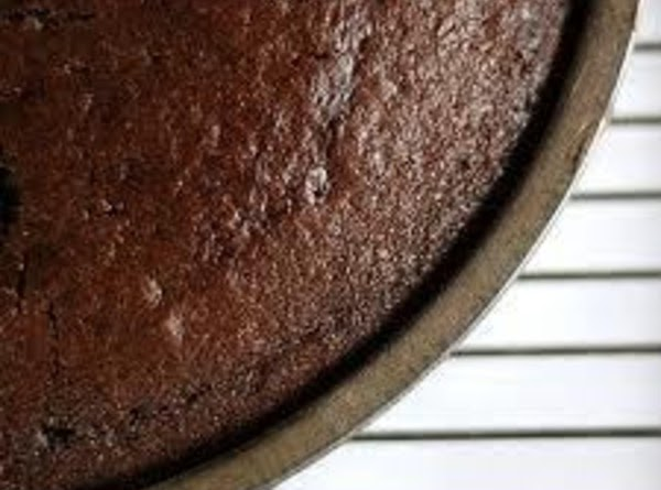 "Grease and flour desired pans: 2 x 10"" cake or 1 large jelly roll..."