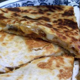 Onion and Mushroom Quesadillas