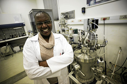 Nanotechnologist Siphephile Ncube is a researcher at the University of Witwatersrand's school of physics. In July she graduates with a PhD degree. /Alaister Russenll