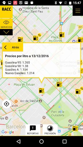 RACC Infotransit screenshot 5