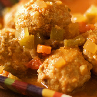Gluten Free Sweet and Sour Meatballs