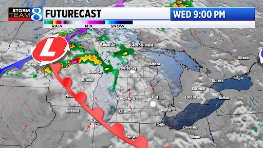 Severe thunderstorm threat arrives after dark tonight