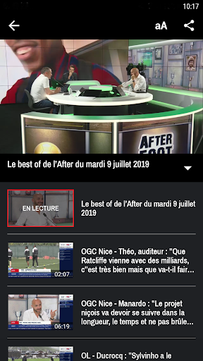 RMC ud83cudf99ufe0fInfo et Foot en direct - Radio & Podcast 4.1.0 screenshots 7