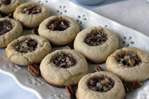 "Click Here for Recipe: Pecan Pie Cookies ""I made these over Christmas..."