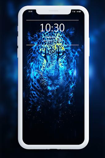 Neon Animals Wallpaper 1.0 screenshots 2