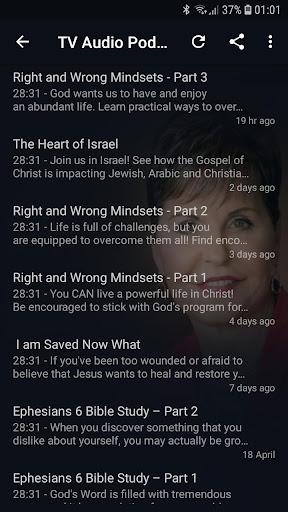 Joyce Meyer's Podcasts & Devotional App Report on Mobile Action