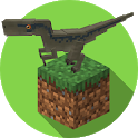 Jurassic Craft Dinosaurs Mod icon