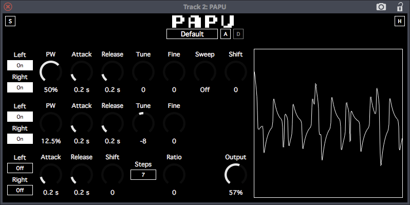 papu gameboy synth emulation