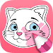 Cat Coloring Pages – Coloring Book icon