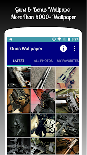 Guns Wallpaper HD Free - náhled