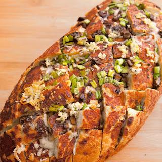 Creamy Baked Mushroom Bread #BreadWorld