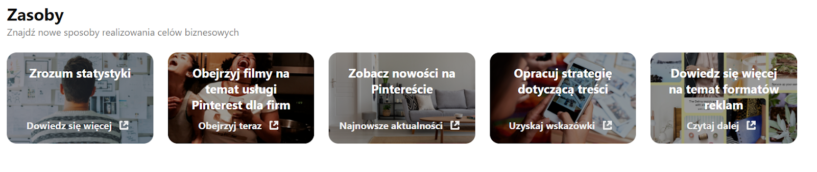 Pinterest - zasoby (screen)
