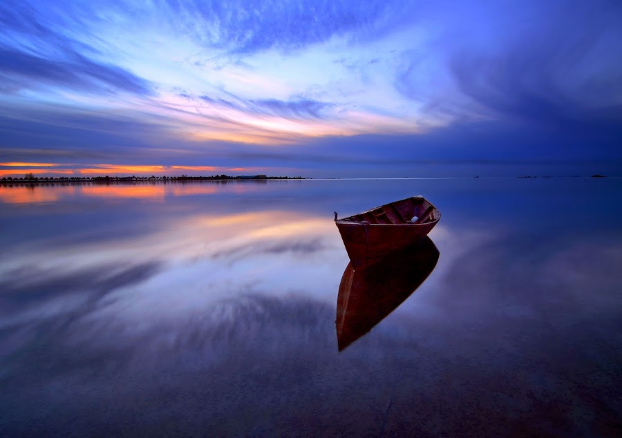 in the Mirror by Jonny Yandri - Landscapes Waterscapes