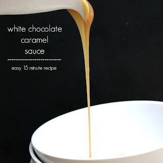 White Chocolate Caramel Sauce.