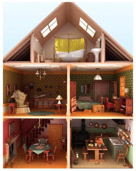 Doll House Design Ideas Screenshot